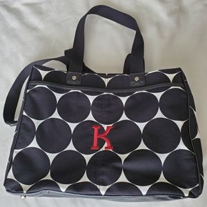 Thirty One Suite Success Carry On Black Dot Large